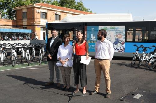 BiciMAD de EMT Madrid crecerá hasta duplicar su tamaño en 2019