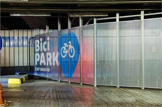 EMT Madrid crea BiciPark, para estacionar bicicletas en aparcamientos
