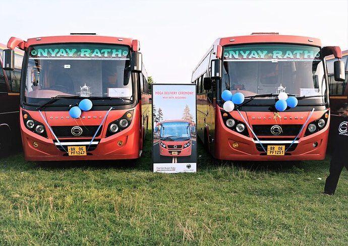 Recuperación del mercado de autobuses en la India