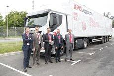 XPO Logistics presenta la mayor flota de camiones de gas natural licuado