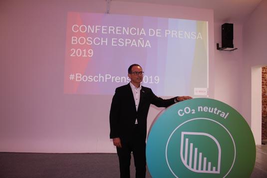 Bosch presenta un crecimiento favorable en el mercado español, durante 2018