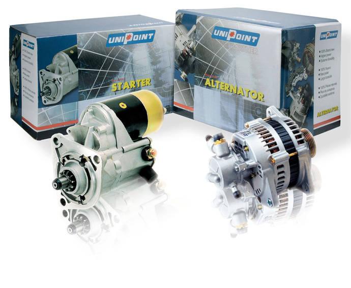 Bosch amplía la gama de motores de arranque y alternadores de la marca Unipoint