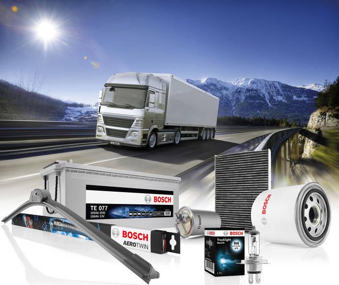 Bosch asegura a los vehículos industriales un invierno seguro