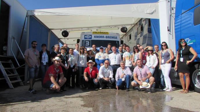 Bosch vivió, junto a sus clientes, el XXX GP Camión de España en el Jarama