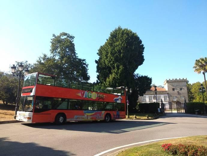 Vuelve el bus turístico de Vigo de Vitrasa en su 20 aniversario