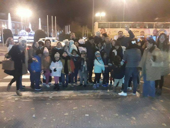 BusVision invita a un grupo de refugiados a dar un paseo por Madrid