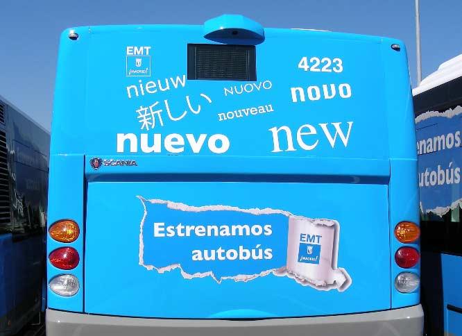 EMT de Madrid recibe 200 nuevos autobuses en 2016