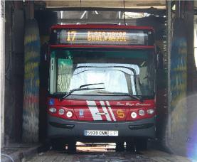 EMT de Madrid pone en venta 30 autobuses de segunda mano