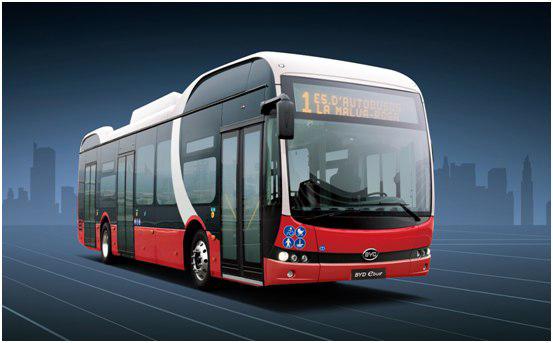 BYD entregará a España 15 buses eléctricos