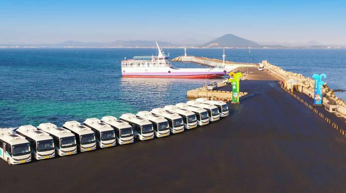 BYD lanza su eléctrico en la famosa isla de Jeju en Corea del Sur