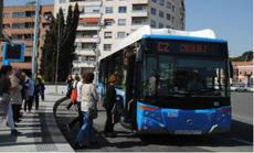 EMT Madrid, al 20 y 30% en la Huelga General del 8-M