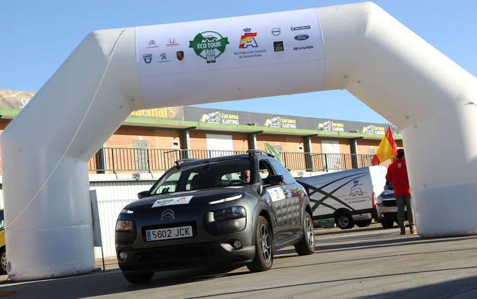 El Citroën C4 Cactus, el que menos consume en el Eco Rally