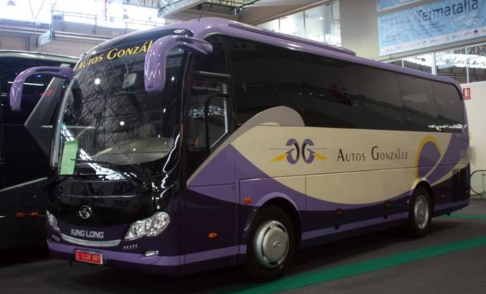 Autos González adquiere un King Long C9