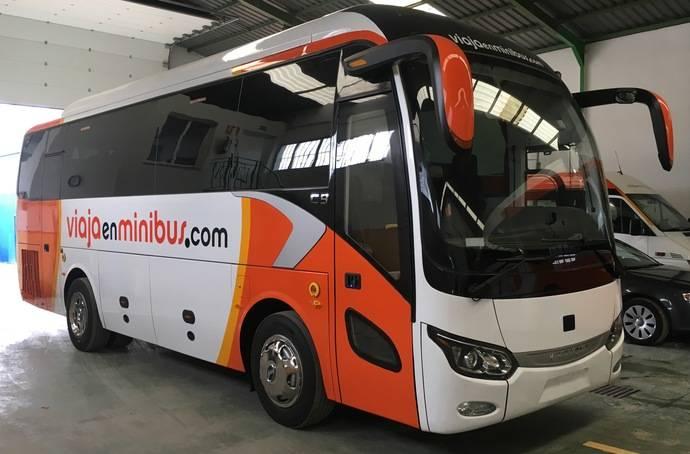 Viaja en Minibús estrena el nuevo King Long C9 Autoportante