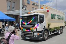 Camión de Ortipesal.