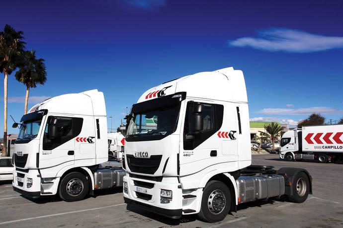 Campillo Palmera renueva su flota con 100 vehículos Iveco Stralis