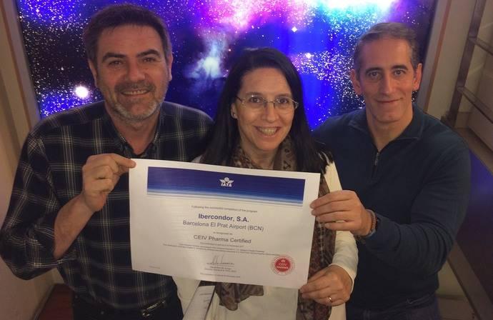 Ibercóndor logra la obtención de la certificación CEIV Pharma
