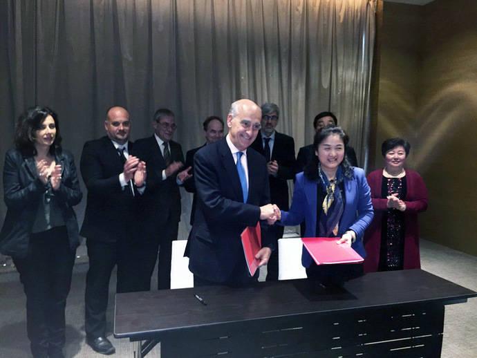 El CIAC se alía con la Cámara de Comercio China de Wuhan