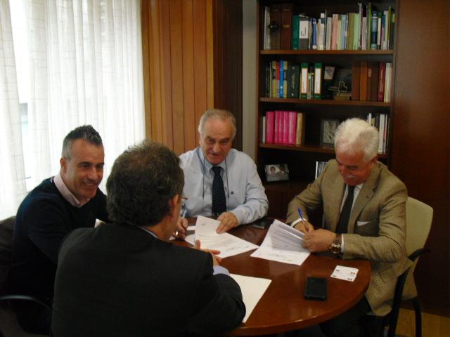 Fegatramer firma un convenio para el suministro de gas natural, con la empresa HAM