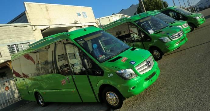 Autocares Herranz recibe cuatro autobuses Spica