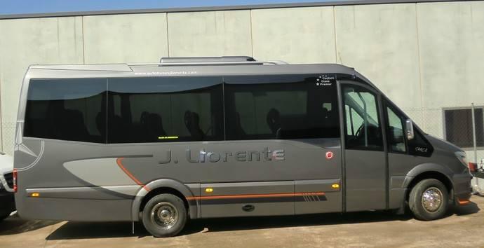 Autobuses Llorente pone a disposición de sus clientes un nuevo Spica de Car-Bus.net