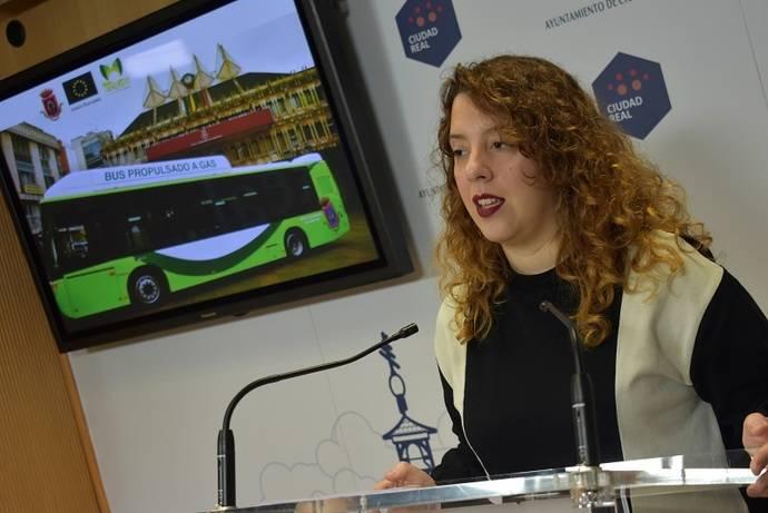 Ciudad Real aprueba la compra de tres autobuses de gas natural