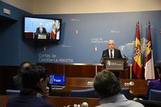 El director general de Carreteras y Transportes de Castilla-La Mancha, David Merino.