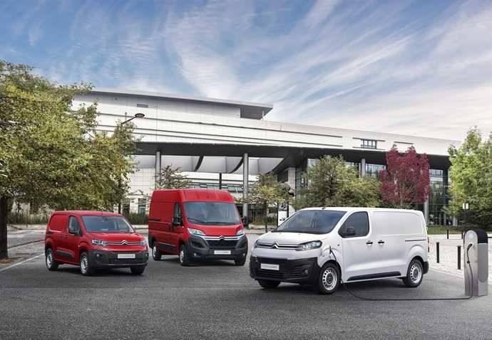 Citroën pasa a la ofensiva eléctrica con su gama de vehículos comerciales