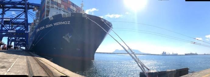 Puerto de Algeciras registra semestre récord, con 54 millones toneladas