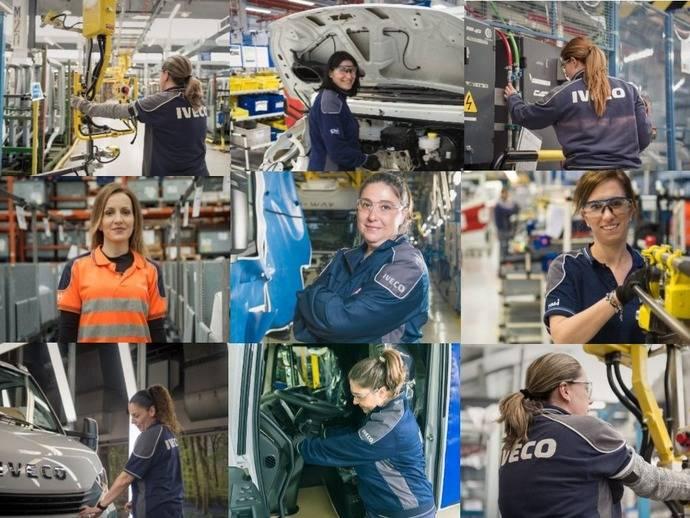 Evolución de la mujer en el Sector, experiencia de trabajadoras Iveco