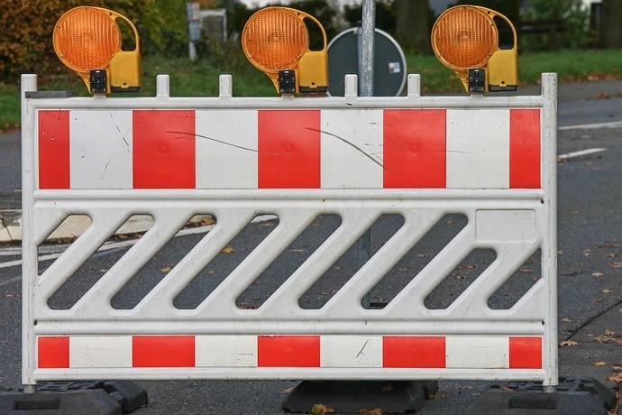 La carretera Parbayón-Riosapero permanece cerrada para su acondicionamiento desde el 2 de junio al 31 de julio