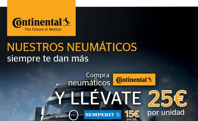 Nuevos cargos en el área de Neumáticos de Reemplazo de Continental