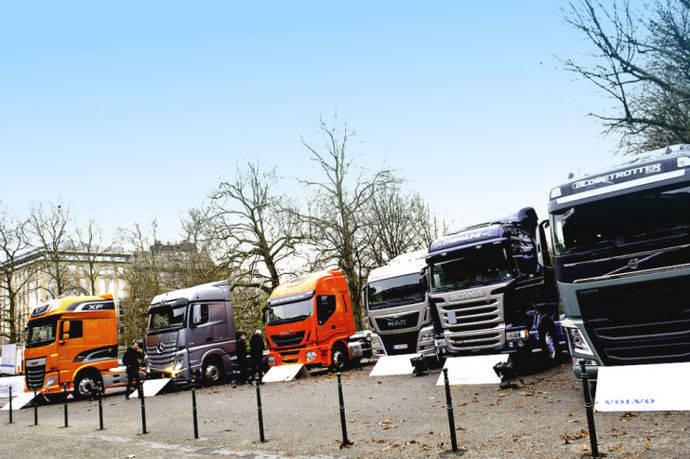 Crecimiento europeo al alza de venta de vehículos comerciales