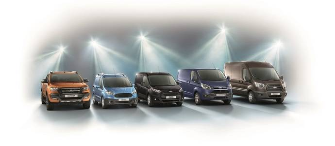 La nueva Transit permite a Ford ser marca número uno en vehículos comerciales en Europa en 2015