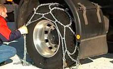 Seis de cada 10 españoles desconocen cómo poner las cadenas