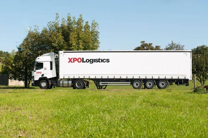 Un camión de XPO Logistics.
