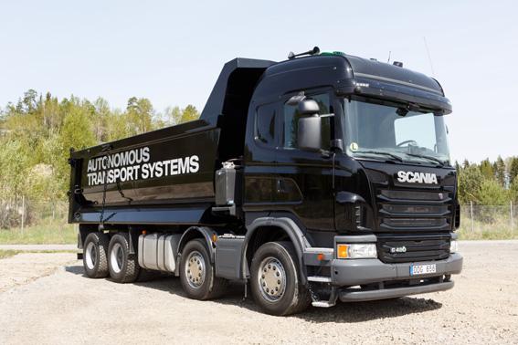 Scania lanza una nueva gama de construcción