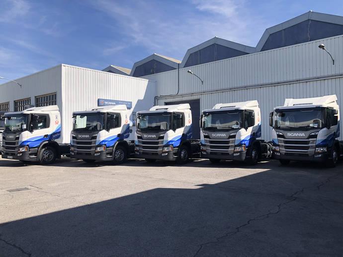 Margolles Logistic apuesta por el gas, de mano de Scania