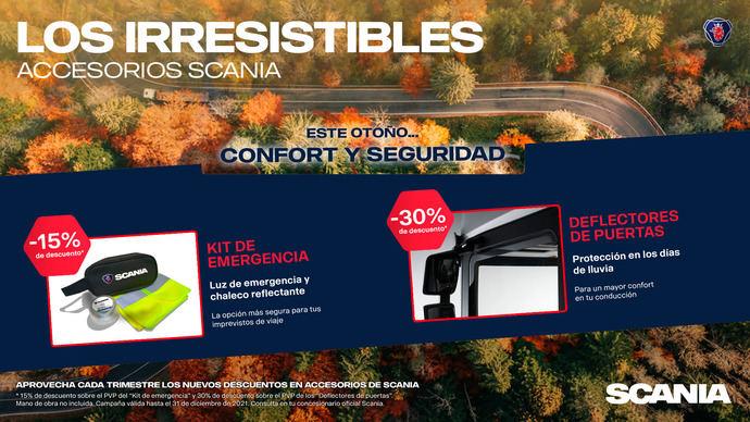 La cuarta entrega de 'Los irresistibles de Scania'