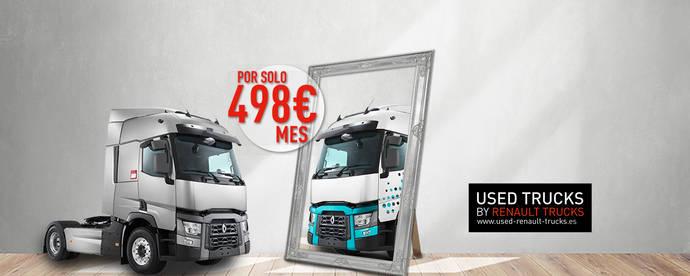 Renault Trucks lanza la campaña Personaliza-T, para vehículos seminuevos Gama T