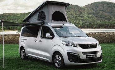 Peugeot y Tinkervan presentan su nueva gama de vehículos Camper