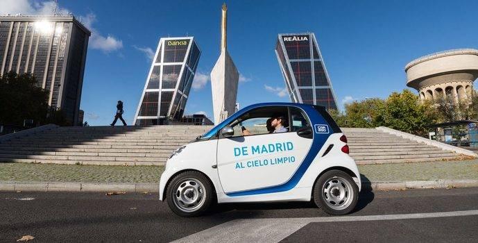 Car2go suspende temporalmente su servicio en Madrid