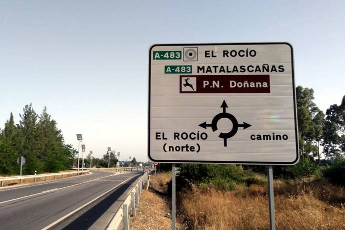 Andalucía adjudica el proyecto de ampliación a tres carriles de la A-483 entre Almonte y El Rocío