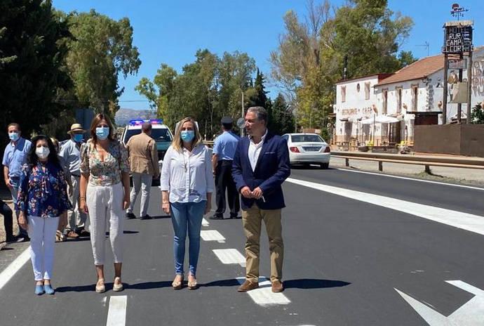 Andalucía finaliza con ocho meses de adelanto la obra de mejora de la carretera Ronda-Ardales