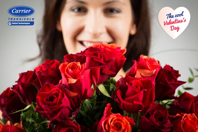 Carrier Transicold hace llegar las rosas por San Valentín
