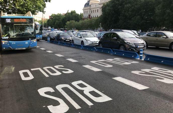 Viaja gratis en Madrid durante Septiembre con EMT en hora punta