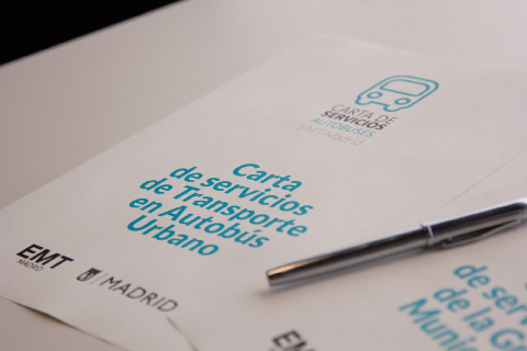 EMT publica sus primeras Cartas de Servicios en Madrid