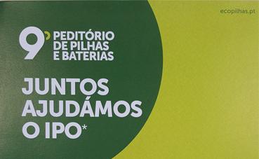Luís Simões participa en la recogida de pilas