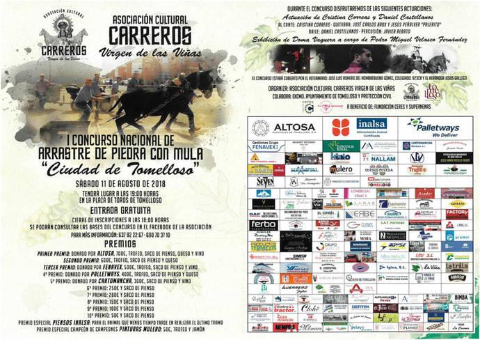 Palletways patrocina el Concurso de Arrastre con Mula