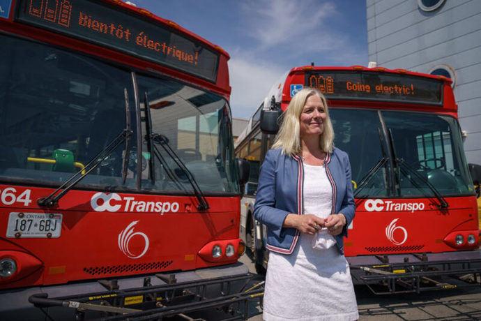 Ottawa agregará 450 autobuses de cero emisiones a su flota de tránsito para 2027